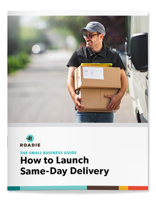 launch same day delivery for small business